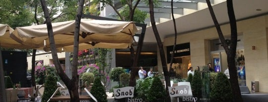 Snob Bistro is one of Polanco.