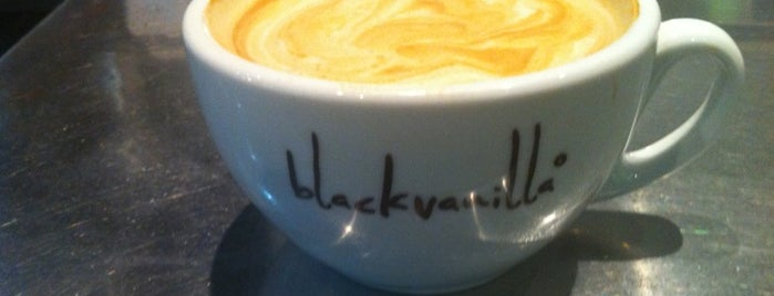 Black Vanilla is one of Specialty Coffee Shops (London).