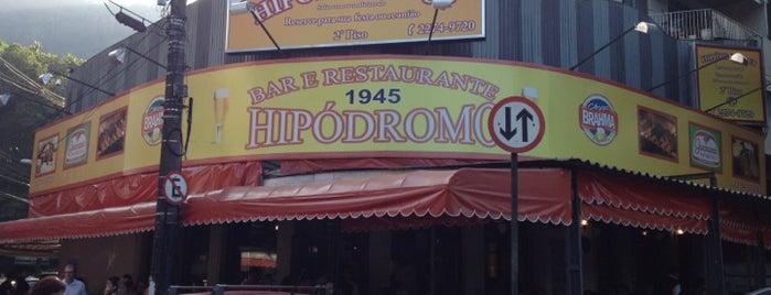 Bar e Restaurante Hipódromo is one of RJ para comer.