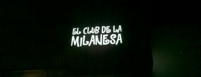 El Club de la Milanesa is one of Donde ir a comer.