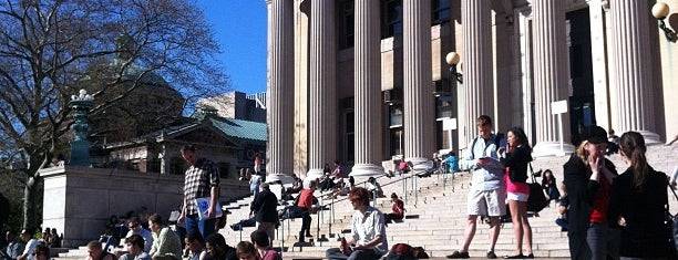 Low Steps - Columbia University is one of Places.
