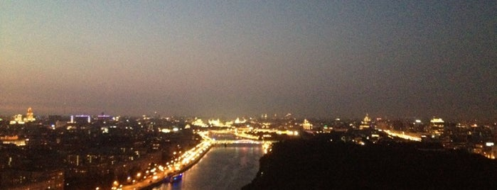 Sky Lounge is one of Moscow, I Love U!.