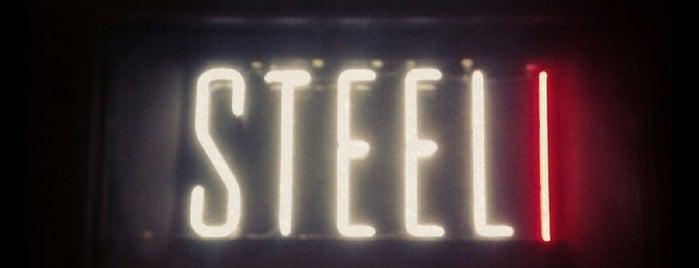 Steel is one of Zach 님이 좋아한 장소.
