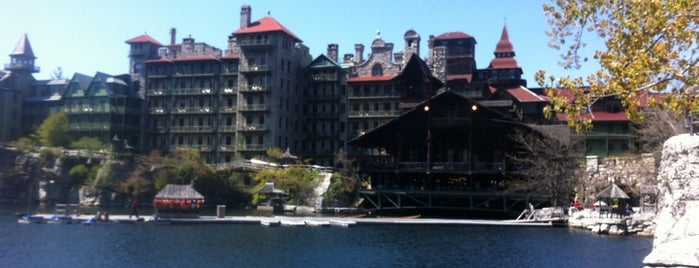 Mohonk Mountain House is one of Stevenson's Favorite World Hotels.