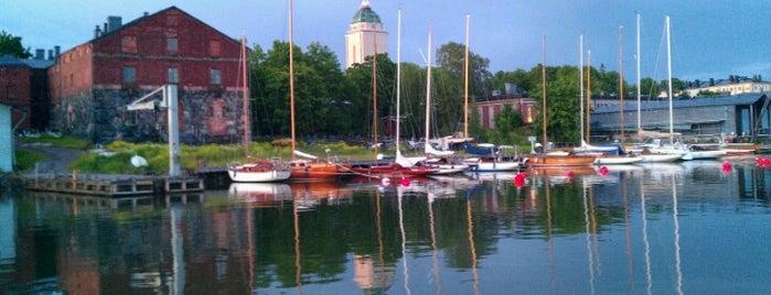 Suomenlinna / Sveaborg is one of Helsinki.