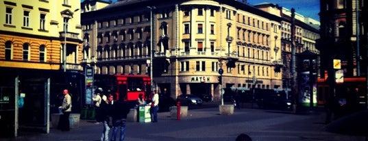 Blaha Lujza tér is one of Budapest 2015.