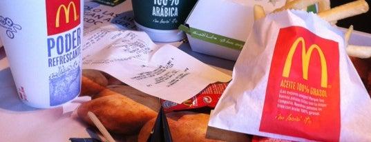McDonald's is one of Restaurantes que admiten cheques Gourmet.