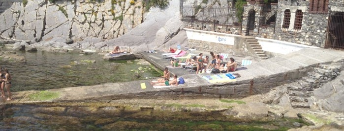 Bagni Santa Chiara is one of √ Best Beach Resorts in Liguria.