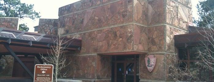 Beaver Meadows Visitor Center is one of Tempat yang Disukai Rex.