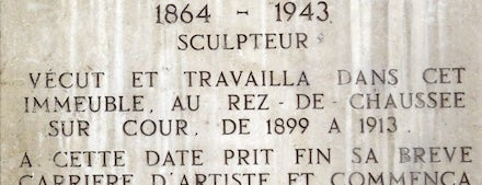 Pôle Culturel Camille Claudel is one of FR2DAY's French Riviera Cultural Guide.