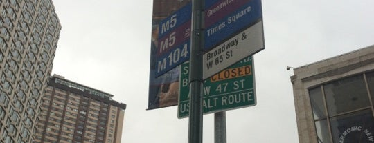 MTA Bus Stop - M5 is one of Mark's Travel.