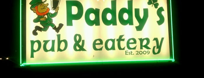 Paddy's Pub & Eatery is one of Best Bars in Georgia to watch NFL SUNDAY TICKET™.