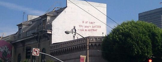 Banksy Mural: Airstrike is one of San Francisco | New to Town.