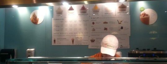 Pinkberry is one of Favorite Food.