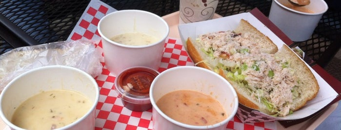 Pike Place Chowder is one of Lost in Seattle.
