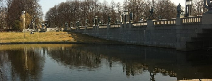 Frogner Park is one of Oslo City Guide.