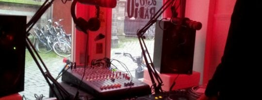 Red Light Radio is one of The Pop-Up City Guide to Amsterdam.
