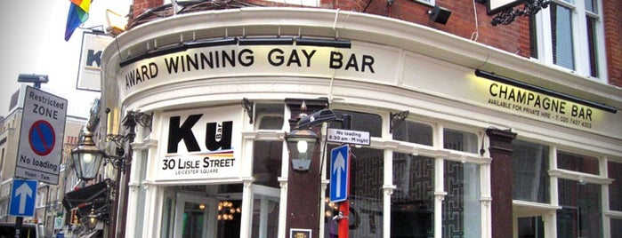 Ku Bar is one of When in London.