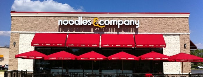 Noodles & Company is one of Favorite Eating Spots.