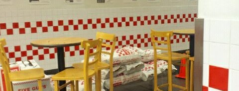 Five Guys is one of Great food in New York City.