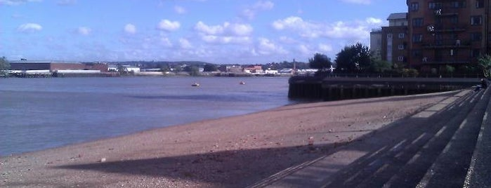 Poppy's Beach is one of Greenwich and Docklands; London.