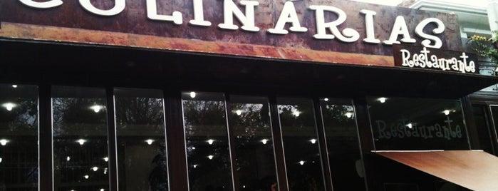 Culinárias Restaurante is one of Tempat yang Disukai Anderson.