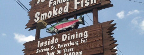 Ted Peters Famous Smoked Fish is one of Favorite Seafood Restaurants in Florida.