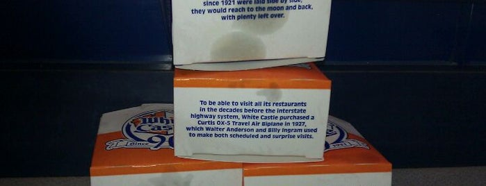 White Castle is one of Burgers-To-Do List.