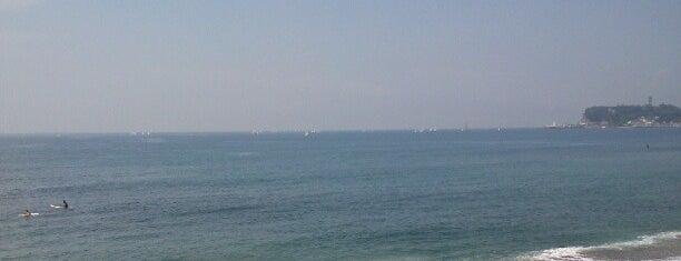 七里ヶ浜 is one of 日本の渚百選.