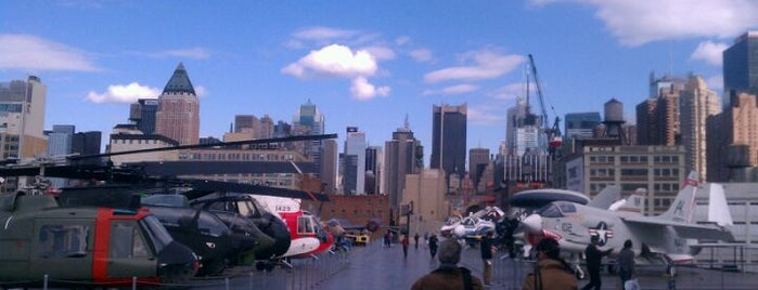 Intrepid Sea, Air & Space Museum is one of Places to visit NYC 2013.