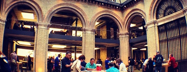 Apple Covent Garden is one of my favorite.
