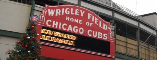 Wrigley Field is one of Great Sport Locations Across United States.
