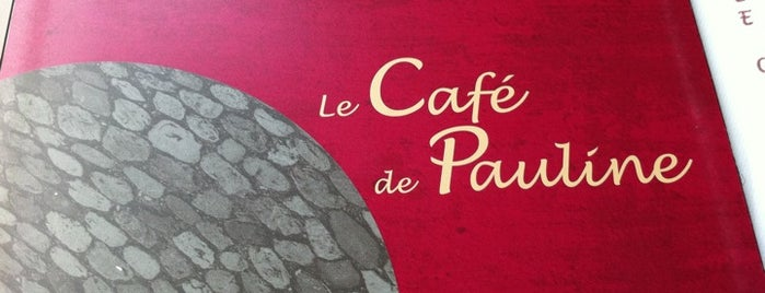 Le Café de Pauline is one of Restaurants parisiens.