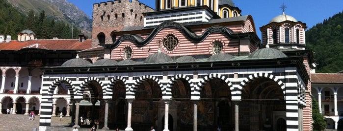Рилски манастир (Rila Monastery) is one of UNESCO World Heritage Sites in Eastern Europe.