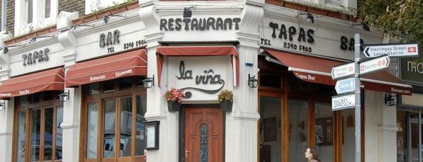 La Viña is one of Favourite Harringay Haunts.