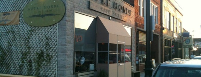 Autre Monde Cafe & Spirits is one of 2014 Bib Gourmand.