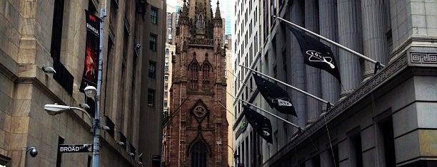 Wall Street is one of 101 places to see in Manhattan before you die.