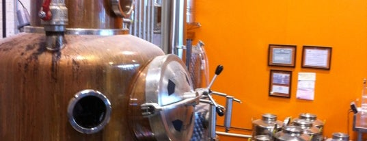 Breuckelen Distillery is one of NYC Distillery, Winery, and Brewery Tours.