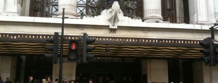 Selfridges & Co is one of An Aussie's fav spots in London.