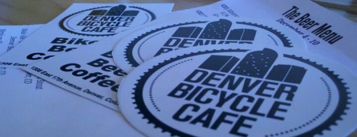 Denver Bicycle Cafe is one of 5280's Best Bars in Denver.