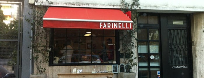 Farinelli is one of Sitios a ir.
