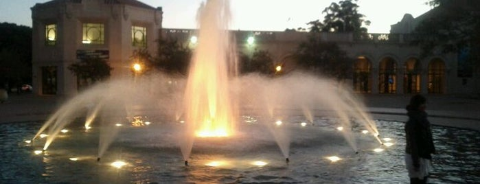 Balboa Park Fountain is one of San Diego.