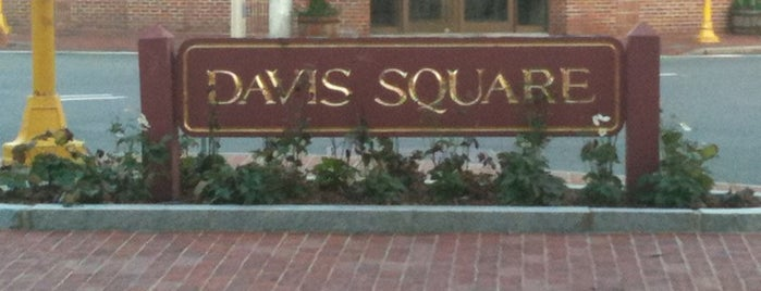 Davis Square is one of BUcket List.