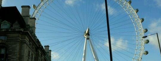 런던 아이 is one of Stuff I want to see and redo in London.