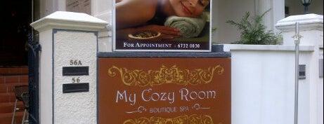 My Cozy Room Boutique Spa is one of สถานที่ที่ Christine ถูกใจ.