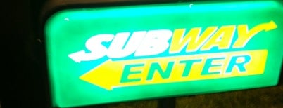 SUBWAY is one of Free WiFi.
