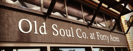 Old Soul at 40 Acres is one of Cafés.