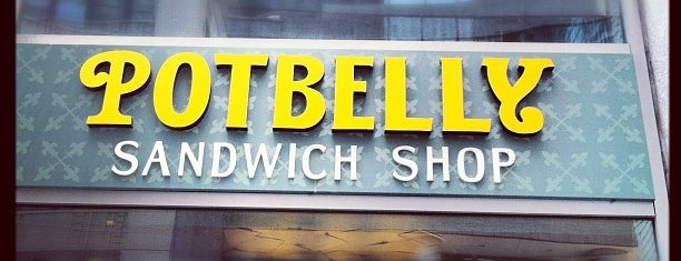 Potbelly Sandwich Shop is one of Lieux sauvegardés par Lizzie.