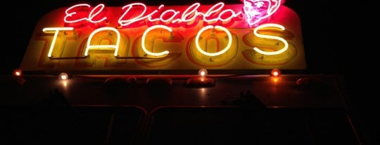 El Diablo Tacos is one of South of the border.