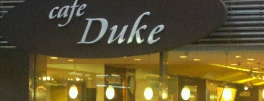 Café Duke is one of Tempat yang Disukai David.